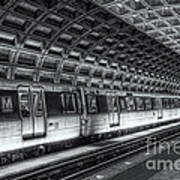 Washington Dc Metro Station Vi Art Print