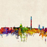 Washington DC Skyline Art Print