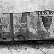 Washington Line Art Print