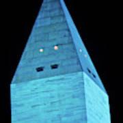 Washington Monument At Night Art Print