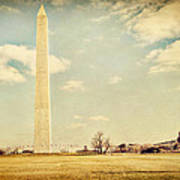 Washington Monument Art Print