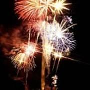 Washington Monument Fireworks 2 Art Print