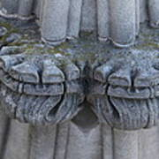 Washington National Cathedral - Washington Dc - 0113119 Print by DC Photographer
