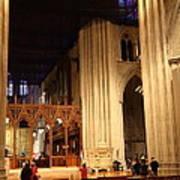 Washington National Cathedral - Washington Dc - 011312 Art Print by DC Photographer
