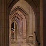 Washington National Cathedral - Washington Dc - 01136 Art Print