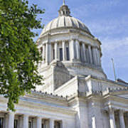 Washington State Capitol Building Art Print