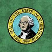 Washington State Flag Art Print
