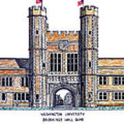 Washington University St Louis Art Print