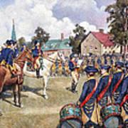 Washingtons Army, 1776 Art Print