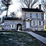 Washington's Headquarters At Valley Forge Art Print