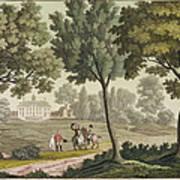 Washingtons House At Mount Vernon Art Print