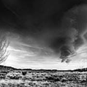 Washoe Clouds Art Print