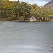 Wast Water Boat House Art Print