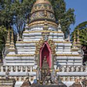 Wat Chai Monkol Phra Chedi Buddha Niche Dthcm0863 Art Print