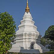 Wat Duang Dee Phra Chedi Dthcm0299 Art Print