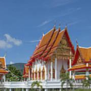 Wat Luang Pu Supa Ubosot Dthp323 Art Print
