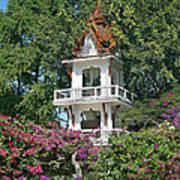 Wat Mahawanaram Bell And Drum Tower Dthu661 Art Print