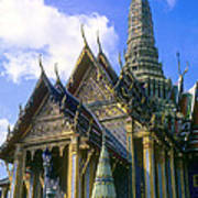 Wat Phra Kaew Art Print
