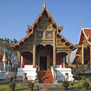 Wat Phra Singh Phra Ubosot Dthcm0246 Art Print