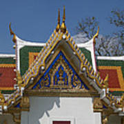 Wat Phrasri Mahathat Ubosot North Wing Gable Dthb1469 Art Print