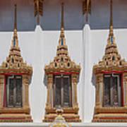 Wat Sapum Thammaram Ubosot Windows Dthp227 Art Print