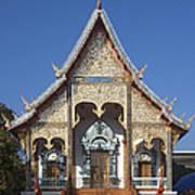 Wat Sri Don Chai Phra Wiharn Dthcm0084 Art Print