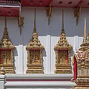 Wat Suwan Khiri Khet Ubosot Windows Dthp273 Art Print