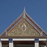 Wat Thewasunthon Preaching Hall Gable Dthb1423 Art Print
