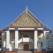Wat Thewasunthon Preaching Hall Or Sala Kan Prien Dthb1422 Art Print
