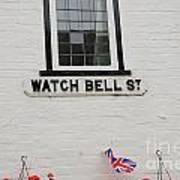 Watch Bell Street Rye Art Print