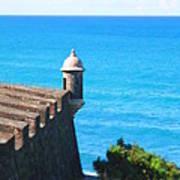 Watchtower Of San Juan Art Print