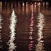 Water And Light Art Print