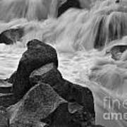 Water And Stone Nigel Creek 2 Art Print