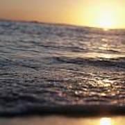 Water At Sunset Art Print