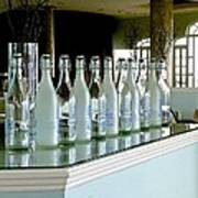 Water Bottles Art Print