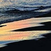 Water Colors .. Art Print