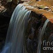 Water Fall At Seven Falls Art Print by Robert D  Brozek