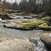 Water Fall Kentucky 2 Art Print