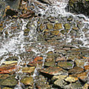 Water From A Stone Art Print