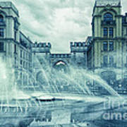 Water In The City Art Print