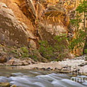 Water In The Narrows Art Print