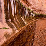 Water Is Life - Coyote Gulch - Utah Art Print