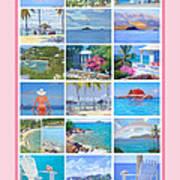 Water Island Poster Art Print
