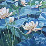 Water Lilies Two Art Print