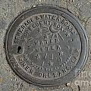 Water Meter 2 Art Print