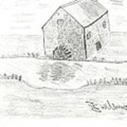 Water Mill Art Print