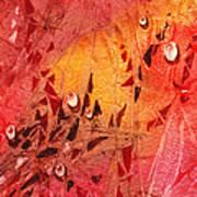 Water On Color Design Seven Art Print