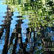 Water Reflections 1 Art Print