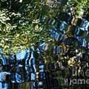Water Reflections 7 Art Print