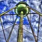 Mary Leila Cotton Mill Water Tower Art  Art Print